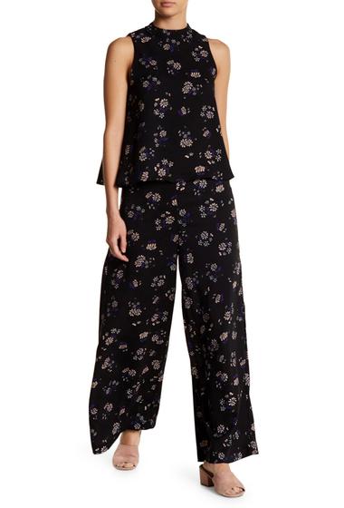Imbracaminte Femei endless rose Nightshade Print Wide Leg Pants NIGHTSHADE PRINT