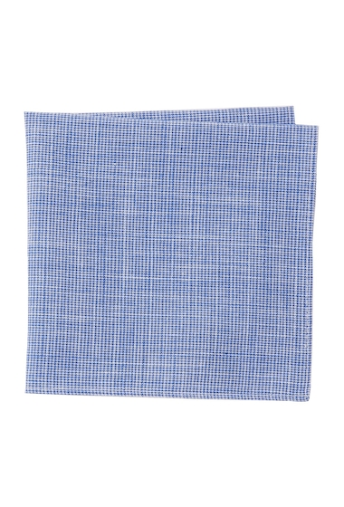 Accesorii Barbati 14th Union Check Pocket Square BLUE
