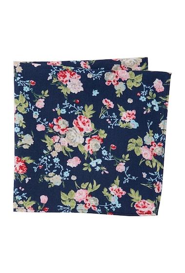 Accesorii Barbati 14th Union Pocosin Floral Pocket Square NAVY