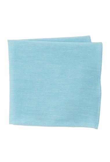 Accesorii Barbati 14th Union Vilano Solid Pocket Square BLUE
