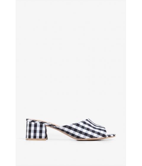 Incaltaminte Femei CheapChic Ready For Vacation Mule Heel Black Pattern