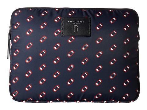 Bijuterii Femei Marc Jacobs Monogram Scream 13quot Computer Case Navy Multi