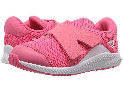 Incaltaminte Fete adidas Kids FortaRun X CF (Toddler) Chalk BlueAero PinkWhite