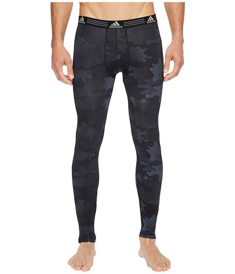 Imbracaminte Barbati adidas Climalitereg Graphic Single Base Layer Pants Black Data Camo