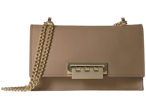 Genti Femei ZAC Zac Posen Earthette Chain Shoulder - Solid Tan