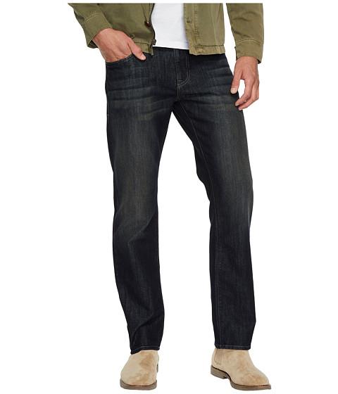 Imbracaminte Barbati Mavi Jeans Zach Regular Rise Straight Leg in Deep Brushed Stanford Deep Brushed Stanford