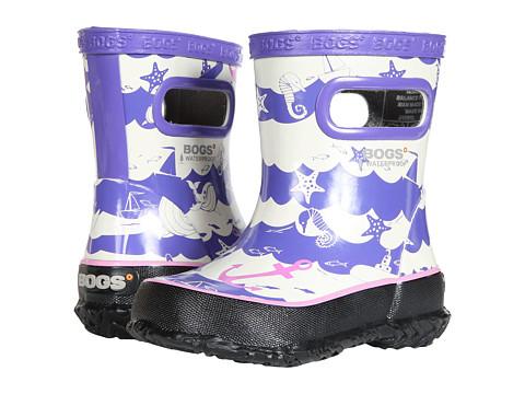 Incaltaminte Fete Bogs Skipper at Sea (ToddlerLittle Kid) Purple Multi