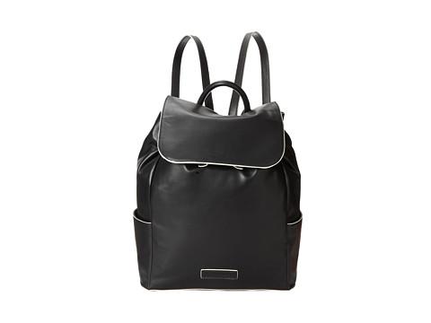Genti Femei Vera Bradley Faux Leather Backpack Black
