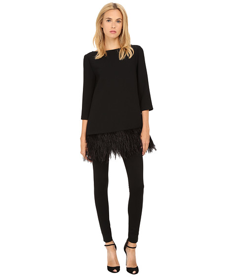 Imbracaminte Femei Kate Spade New York Feather Top Black
