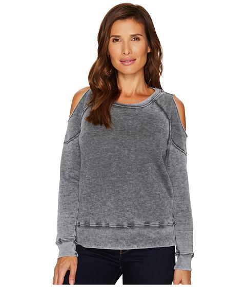 Imbracaminte Femei Allen Allen Cold Shoulder Sweatshirt Black