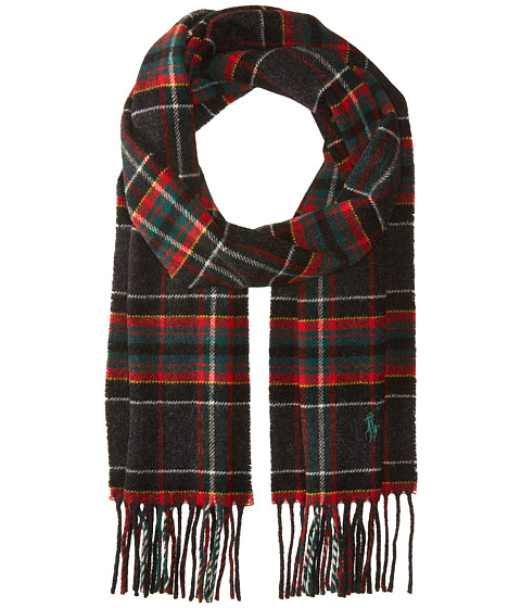 Accesorii Barbati The Kooples Core Virgin Wool Tartans Scarf Charcoal Tartan