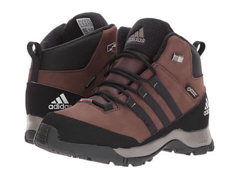 Incaltaminte Baieti adidas CW Winter Hiker Mid GTX (Little KidBig Kid) BrownBlackSimple Brown