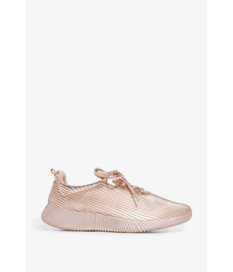 Incaltaminte Femei CheapChic Walking Alone Sneakers Rose Gold