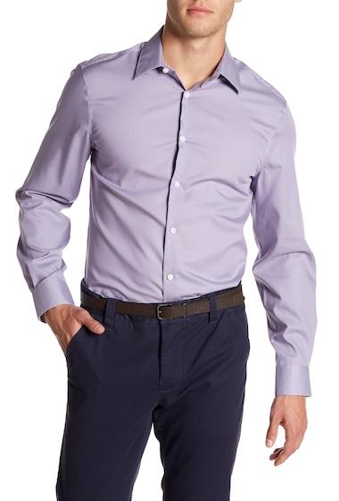 Imbracaminte Barbati Perry Ellis Slim Fit Long Sleeve Woven Shirt DAYBREAK