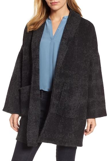 Imbracaminte Femei Eileen Fisher Alpaca Wool Blend Kimono Coat CHAR