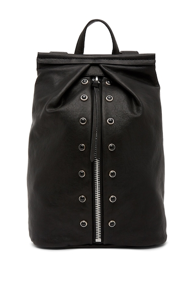 Genti Femei Vince Camuto Cab Leather Backpack NERO 01