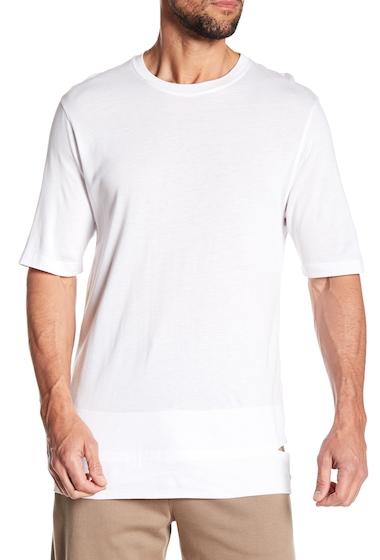 Imbracaminte Barbati Helmut Lang Cut Hem Short Sleeve Shirt OPTIC WHT