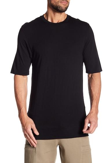 Imbracaminte Barbati Helmut Lang Cut Hem Short Sleeve Shirt BLK