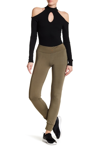 Imbracaminte Femei Badgley Mischka Move Up Mesh Inset Leggings ARMY