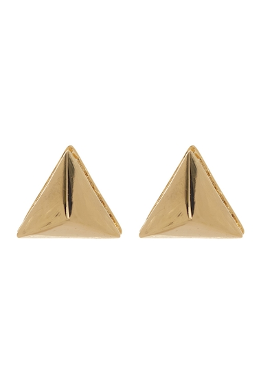 Bijuterii Femei Vince Camuto Crystal Accent Base Pyramid Stud Earrings GOLD 01