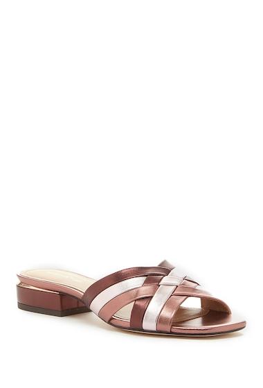 Incaltaminte Femei Pour La Victoire Malena Leather Slide Sandal ROSE