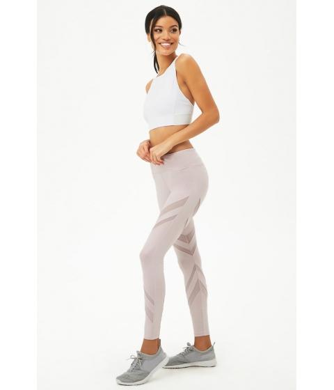 Imbracaminte Femei Forever21 Active Mesh Panel Leggings LILAC