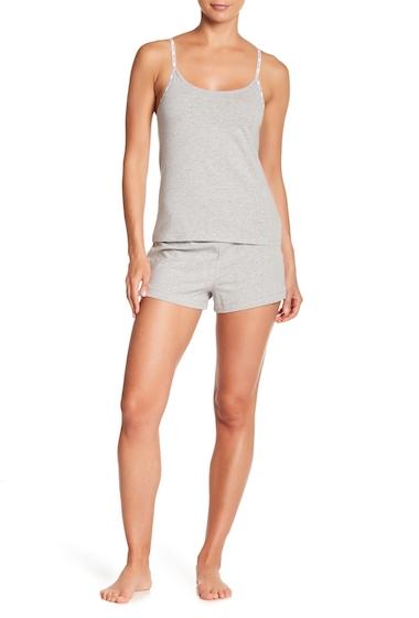 Imbracaminte Femei Calvin Klein Logo Sleepwear 2-Piece Set 020 GREY HEATHE