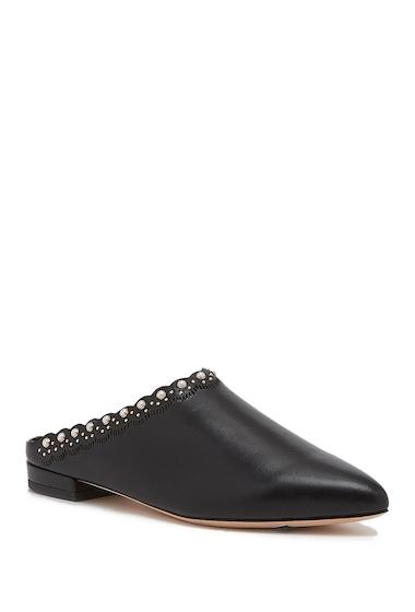 Incaltaminte Femei Pour La Victoire Giselle Leather Mule BLACK