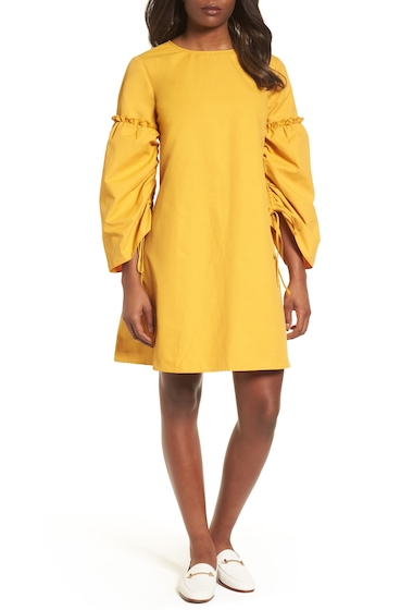 Imbracaminte Femei Halogen Parachute Sleeve Shift Dress Petite YELLOW MINERAL