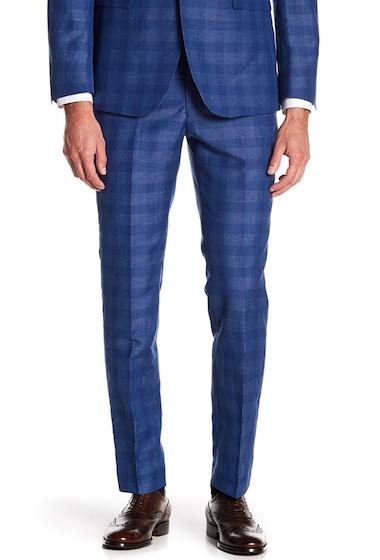 Imbracaminte Barbati Original Penguin Sharkskin Plaid Suit Separates Pants - 30-34 Inseam BRIGHT BLUE PLAID