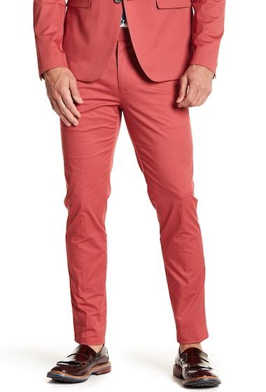 Imbracaminte Barbati Original Penguin Skinny Flat Front Pants - 30-34 Inseam RED