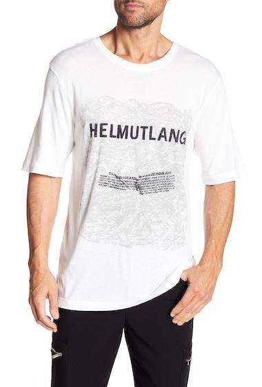 Imbracaminte Barbati Helmut Lang Box Fit Graphic Tee WHMU
