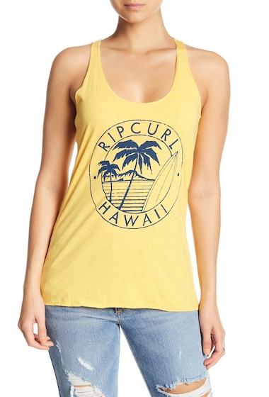Imbracaminte Femei Rip Curl Hawaii Journey Tank Top YEL