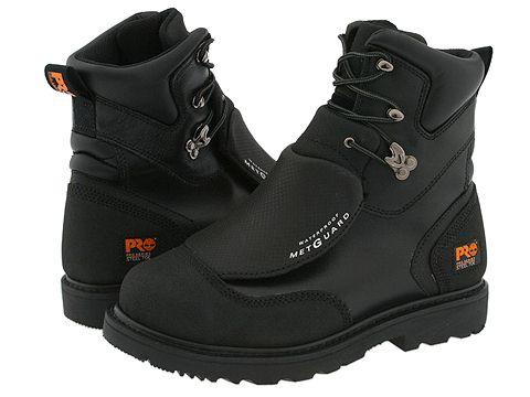 Incaltaminte Barbati Timberland Met Guard 8quot Waterproof Steel Toe Black Ever-Guard Leather