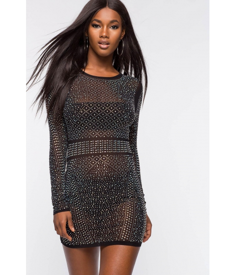 Imbracaminte Femei CheapChic Eternal Night Stone Bodycon Dress Black
