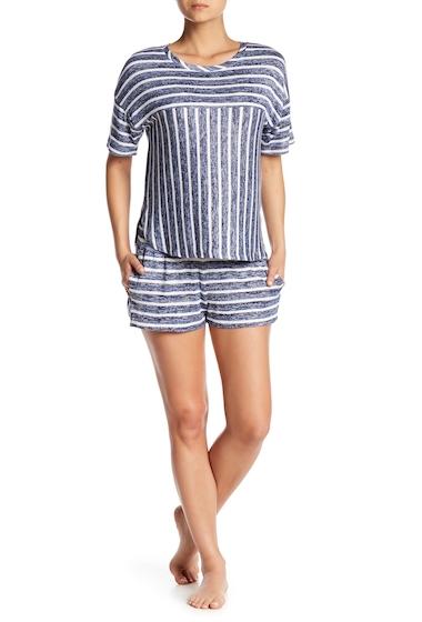 Imbracaminte Femei kensie Stripe Knit Pajama Shorts DKBLSTP