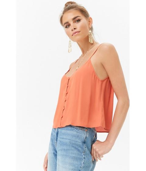 Imbracaminte Femei Forever21 Button-Front Cami ROSE