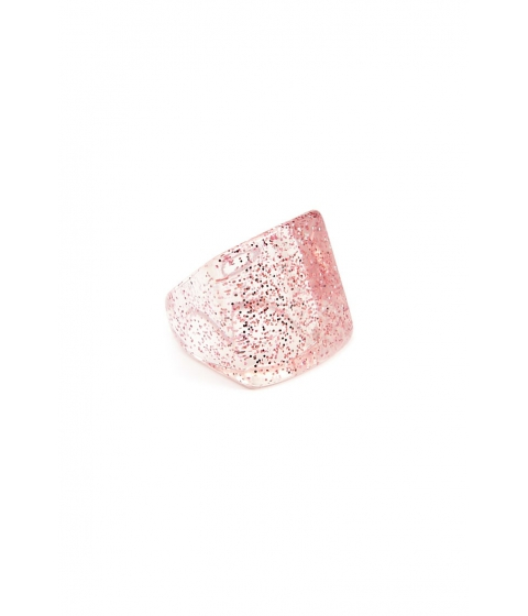 Bijuterii Femei Forever21 Square Glitter Ring PINKCLEAR