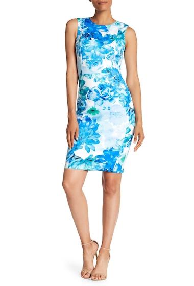 Imbracaminte Femei Modern American Designer Floral Scuba Sheath Dress REGATTA MU