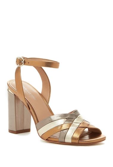 Incaltaminte Femei Pour La Victoire Hadley Leather Sandal GOLD