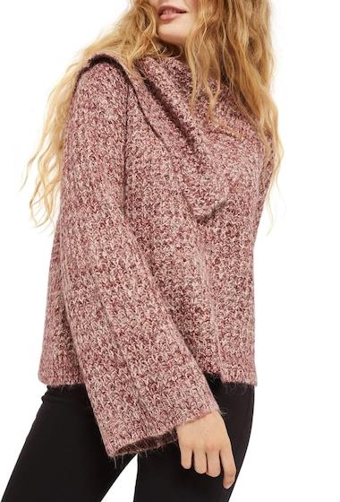 Imbracaminte Femei TOPSHOP Lofty Envelope Neck Sweater PINK