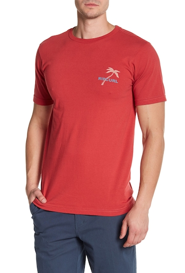 Imbracaminte Barbati Rip Curl Shady Palms Classic Tee RED