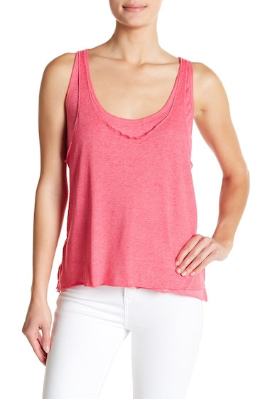 Imbracaminte Femei Abound Layered Tank Top PINK BEETROOT