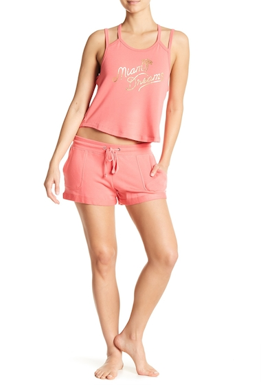 Imbracaminte Femei Free Press Patch Pocket Shorts CORAL SUNKIST