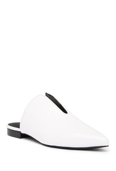 Incaltaminte Femei Jeffrey Campbell Cleos Mule WHITE BOX