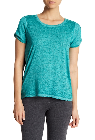 Imbracaminte Femei Marc New York Twisted Shoulder Cutout Tee TROPL TEAL