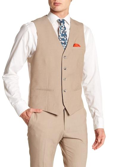 Imbracaminte Barbati TOPMAN Alderly Front Button Vest TAUPE
