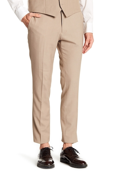 Imbracaminte Barbati TOPMAN Alderly Suit Trousers - 30-34 Inseam TAUPE