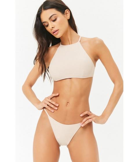 Imbracaminte Femei Forever21 Low-Rise Bikini Bottoms TAN