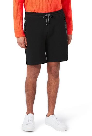Imbracaminte Barbati TOPMAN Textured Jersey Shorts BLACK